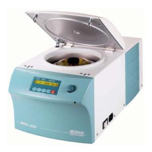 میکروسانتریفیوژ ساده و یخچالدار رومیزی مدل MIKRO220/220 R کمپانی HETTICH آلمان