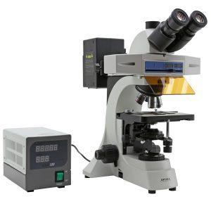 میکروسکوپ فلورسنت سه چشمی مدل B-500TiFL ساخت کمپانی OPTIKA ایتالیا